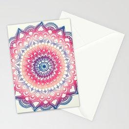 Ocean Sunset Mandala Stationery Cards