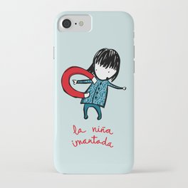 la niña imantada iPhone Case