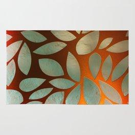 Leaf Pattern 02A Rug