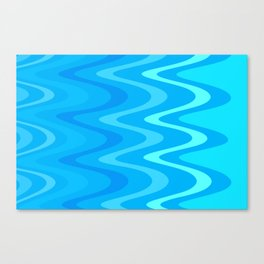 Water trance Canvas Print