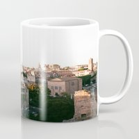 italy Mugs featuring italy by paulina