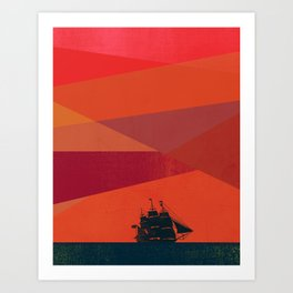 Dawn Voyage Art Print