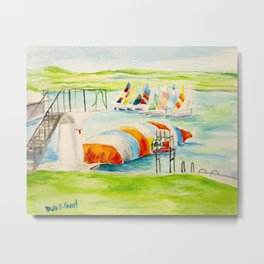 Camp Longhorn - The Blob Metal Print