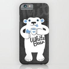 White Bear Slim Case iPhone 6s