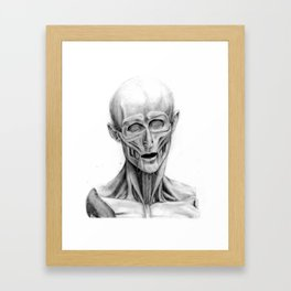 Without Our Skins Framed Art Print