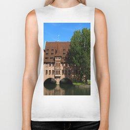 Old Architecture  Nuremberg Biker Tank