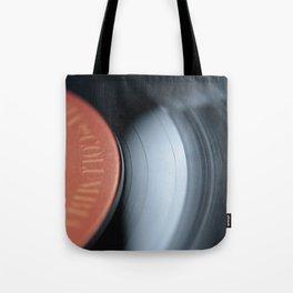33&1/3-RPM Variant (Color) Tote Bag