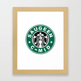 Starbucks C MID Framed Art Print
