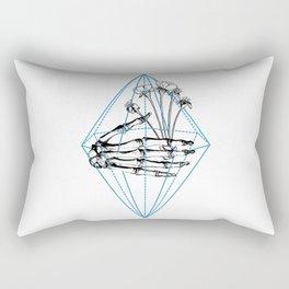 Birdflower Rectangular Pillow