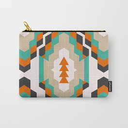 Ethnic Christmas pattern Carry-All Pouch