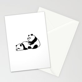 Love Hurts Panda Stationery Cards