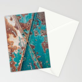 Teal and Rust Stationery Cards