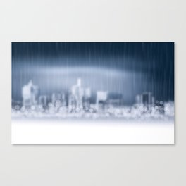 City in Win Canvas Print