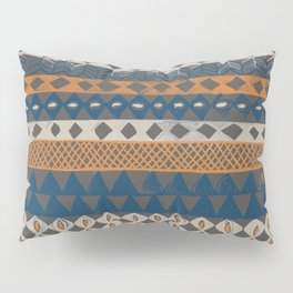 Hand Painted Ethnic Pattern Pillow Sham