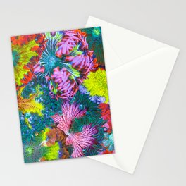 Maxi Mini Anemone Collage Stationery Cards