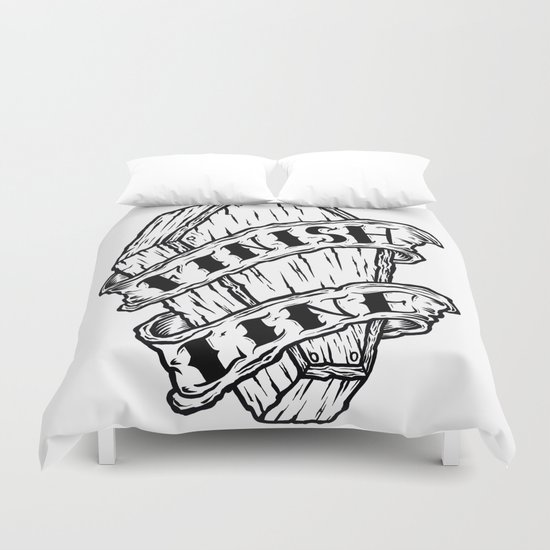Finish Line. Duvet Cover