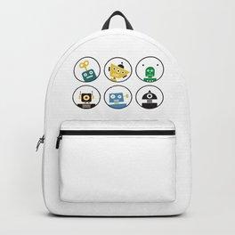 Robot Friends Backpack