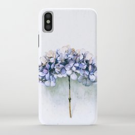 Delicate Hydrangea iPhone Case