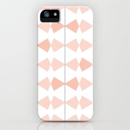 Pretty Bows All In A Row iPhone Case