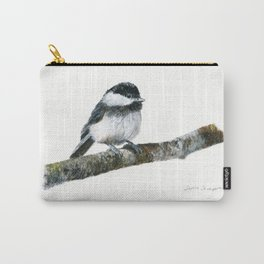 Black-capped Chickadee by Teresa Thompson Carry-All Pouch