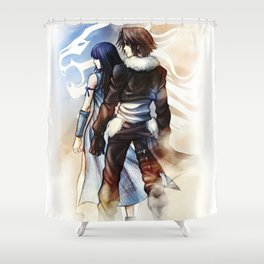 Squall and Rinoa - Griever Shower Curtain