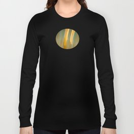 Ancient Gold and Turquoise Texture Long Sleeve T-shirt