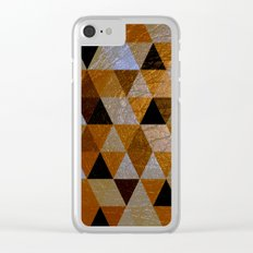 Abstract #362 Clear iPhone Case