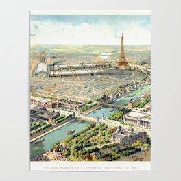 Paris World Fair 1900 Poster