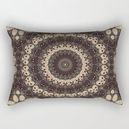 Mandala Arabica . Rectangular Pillow