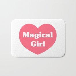 Heart Magical Girl Bath Mat