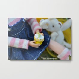 Blythe - Cupcakes Metal Print