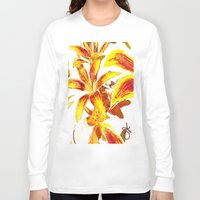 lily Long Sleeve T-shirts featuring Lily by ANoelleJay
