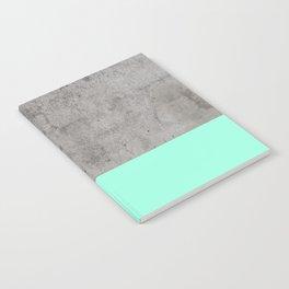 Sea on Concrete Notebook