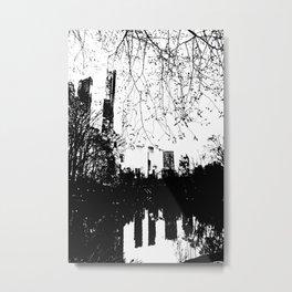 Negative Metal Print