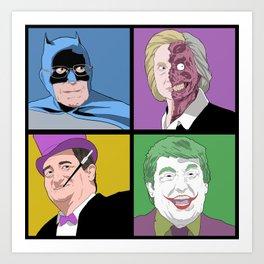 Gotham Candidates 2016 Art Print