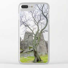 The Castle tree Clear iPhone Case