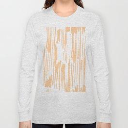 Modern Coral Stripes IV Long Sleeve T-shirt