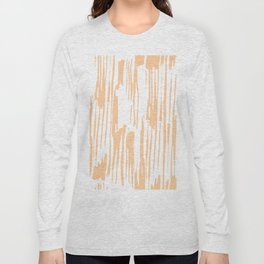 Modern Coral Stripes IV Long Sleeve T-shirt
