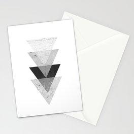 Geometric Triangle  Stationery Cards