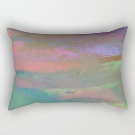 Inside the Rainbow 10 / Unexpected colors Rectangular Pillow