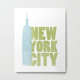 New York City - Empire State Metal Print
