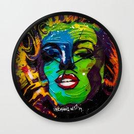 Veermania - Marilyn Wall Clock