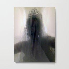 Ghost Bride_Dark Metal Print