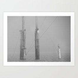 Fogged In Art Print