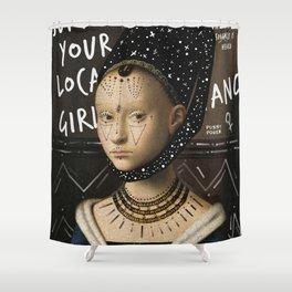 .Portrait Series   Girl Gang. Shower Curtain