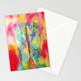 Moldy Feet Stationery Cards