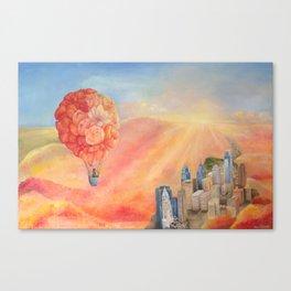 Hot Air Bloom Canvas Print