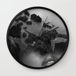 Rock girl Wall Clock