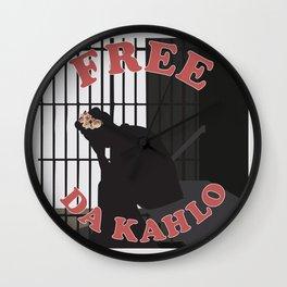 Free Da Kahlo Wall Clock