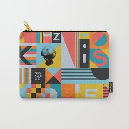 Spikkelz Pattern A Carry-All Pouch
